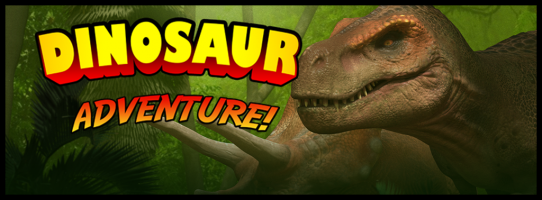 In this experience, you and your friends or family go into a hologram room where you have a Dinosaur Adventure! You go through ten different scenes.  The dinosaurs look real but they are made of laser light. They are real world sizes so some of them are very big. Pick hologram grass to feed a Brontosaurus, fly through the air with the Pterodactyls, visit the ocean - but beware of what could be down there!  Duration: 30 minutes